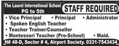 The Laurel  International School Jobs