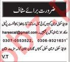 Allied School Jobs Teachers, Coordinator, Receptionist