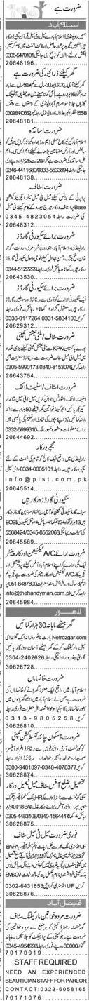 Male / Female Teachers, LTV Drivers Job Opportunity