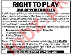 Business Development Officer Wanted