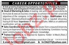 Engineering Company Job Opportunities