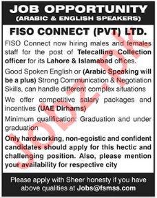 FISO Connect (Pvt) Ltd Jobs
