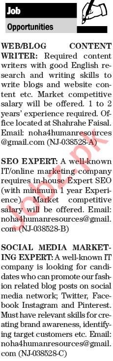 content writing companies in pakistan karachi