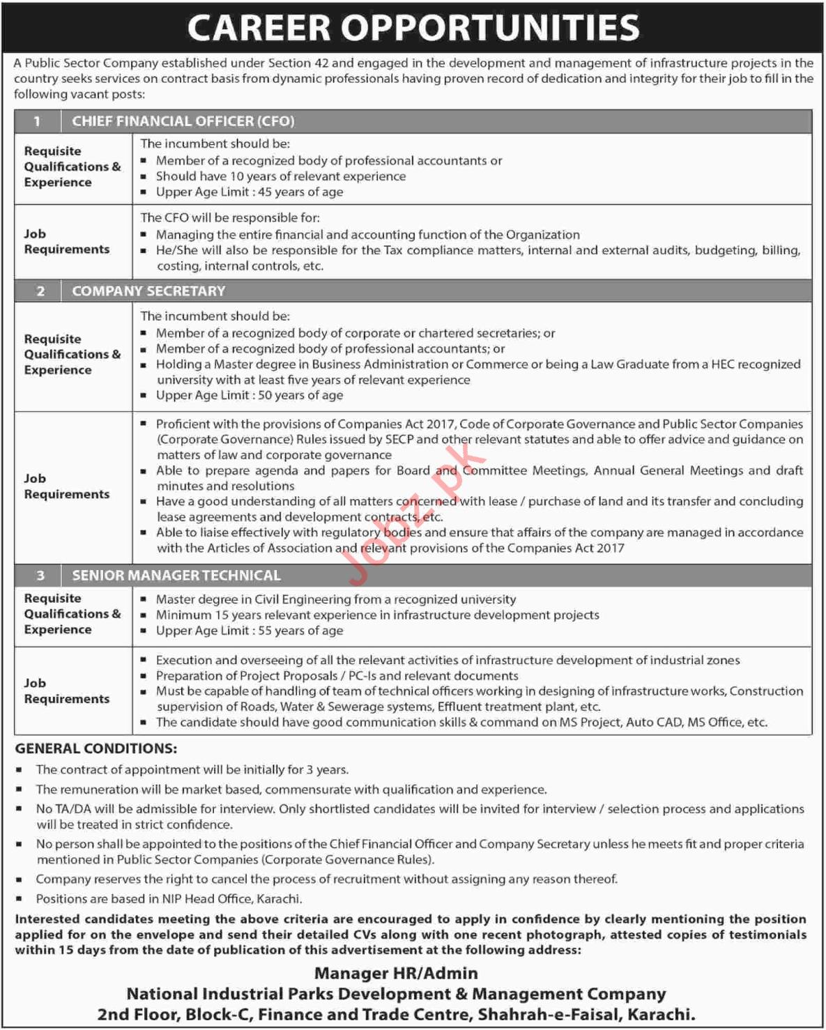 National Industrial Parks Development Management Company Job