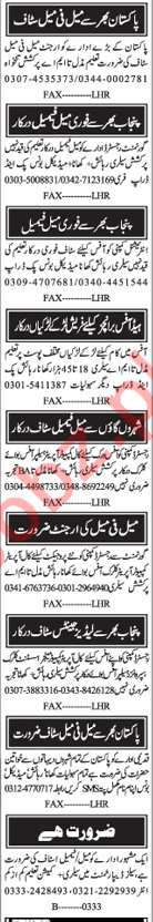 Call Agent & Computer Operator Jobs in Lahore 2018