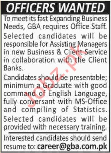 Marketing Officer Jobs  In Karachi  Jobs Pakistan