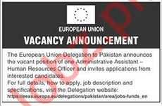 The European Union - Administrative Assistant - HR Officer