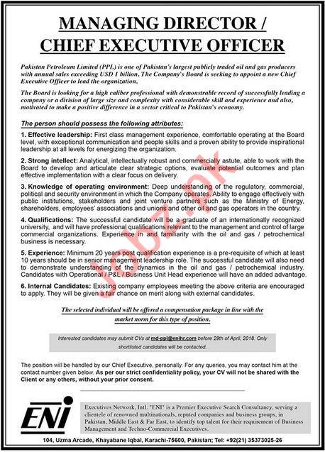 ENI Executive Netwirk International - Management Jobs
