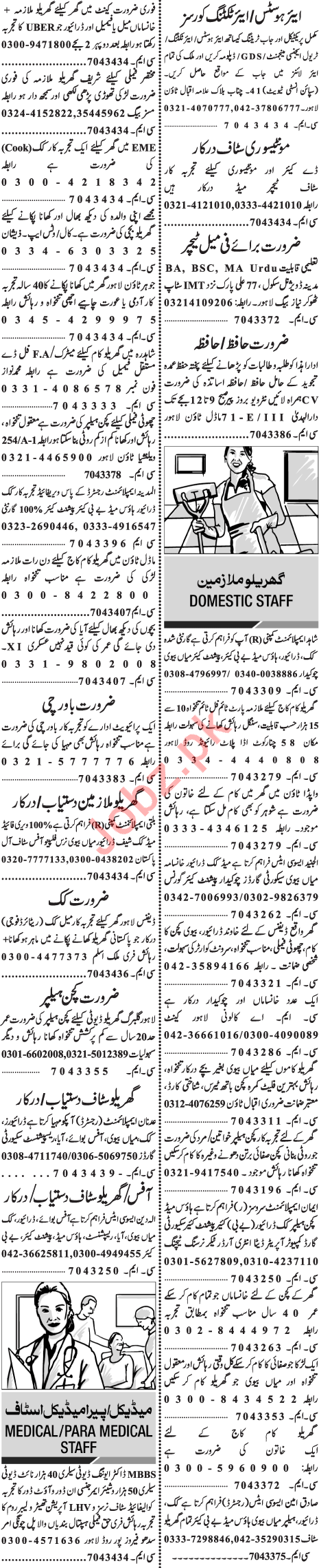 Principal & Teacher Jobs 2018 in Lahore