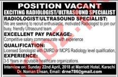 Radiologist / Ultrasound Specialist Jobs