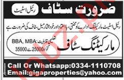 Marketing Staff Jobs in Rawalpindi