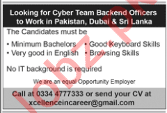 Cyber Team Backend Officers