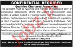 Chartered Accountant Jobs 2018