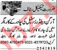 Organ Welder Jobs Opportunity in Lahore