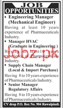 Engineering Manager Mechanical Engineer Job Opportunity