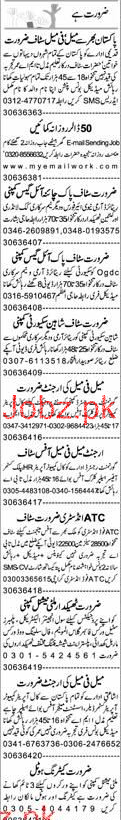 Data Entry Operators, Public Customer Officers Wanted