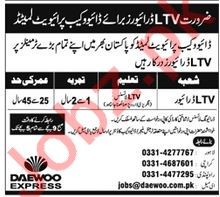 LTV Drivers for Daewoo Cab