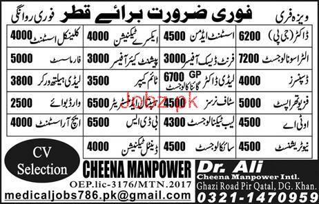Dental Technicians, Pharmacists, Dispensers Job Opportunity