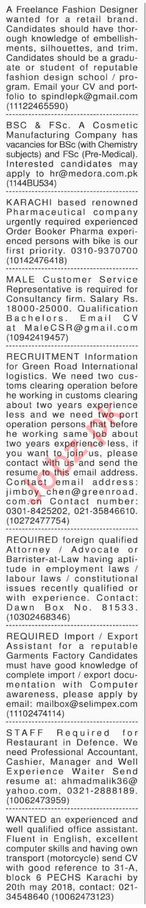 Fashion Designer Wanted For Retail Brand 2020 Job Advertisement Pakistan
