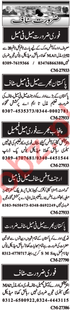 Office Staff Jobs 2018 in Islamabad