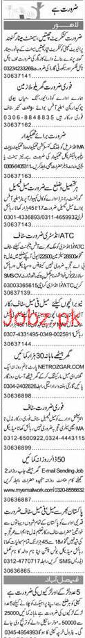Chawkidars, Helpers, office Boys Job Opportunity