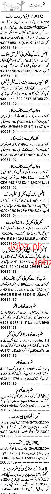 HR Officers, Clerks, Helpers, Phone Operators Wanted