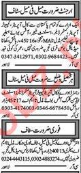 Khabrain Newspaper Classified Ads 2018 In Multan