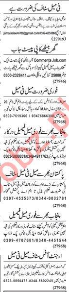 Supervisor, Marketing Executives Jobs 2018 in Lahore