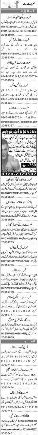 Kitchen Helpers, House Maid, Butman, Job Opportunity