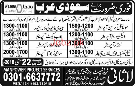 Mobile Crane Operators, HTV Heavy Duty Drivers Wanted