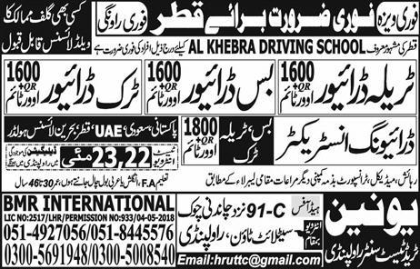 HTV Tralla Drivers, HTV Bus Drivers Job Opportunity