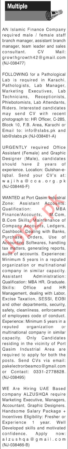 Branch Manager for Islamic Finance Company