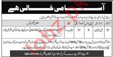 Lower Division Clerk LDC Job 2018 In Murree