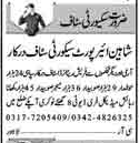 Security Guards & Security Supervisors Jobs 2018 in Multan