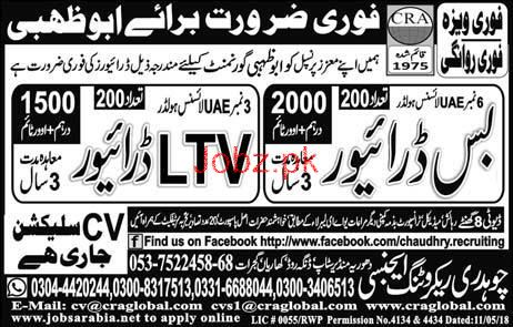 HTV Heavy Bus Drivers and LTV Drivers Job Opportunity