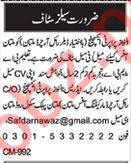 Real Estate Company Sales Jobs 2018 in Multan