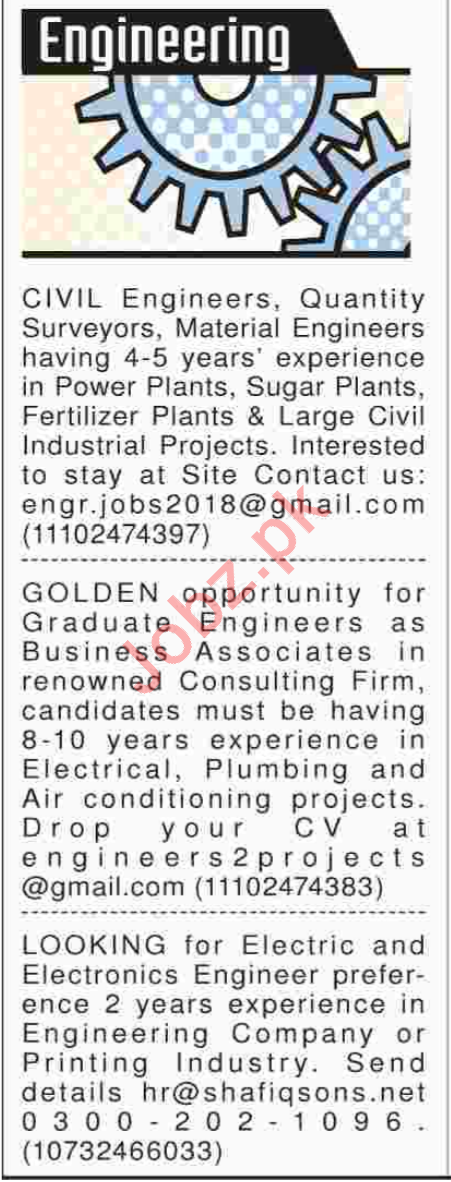 Civil Engineers Job Opportunities