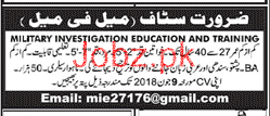 Investigation Education and Training  Jobs