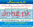 Ghazali Institute of Medical Sciences Jobs
