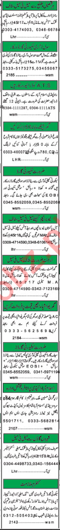 Khabrain Newspapers Classified Jobs 2018 For Islamabad
