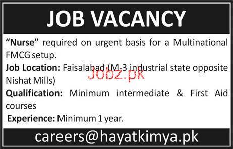 Nurse Job Opportunity