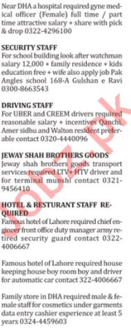 Doctor, Paramedical Staff, Security Guard & Driver Jobs
