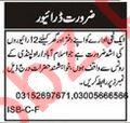 Drivers Jobs 2018 For Islamabad / Rawalpindi