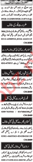 Nawa-e-Waqt Classified Jobs 2018 For Islamabad