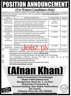 KPK Fund Management  Manager Human Resource HR Jobs