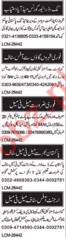 Accountant & Receptionist Jobs 2018 in Multan