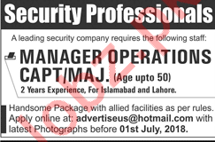 Manager Operations Jobs Open