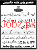 Distributors, Order Bookers and Salesmen Job in Sanfaz Food