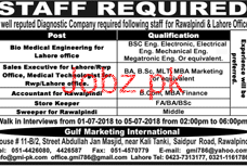 Diagonostic Company Bio Medical Engineers Jobs