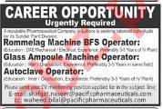Rommelag Machine BFS Operator & Autoclave Operator Jobs